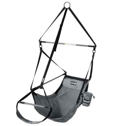 Eno LOUNGER HANGING CHAIR in Grey - Closeouts