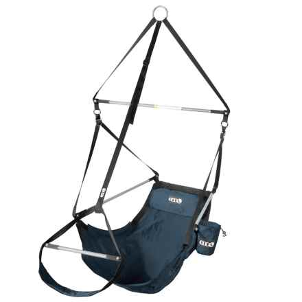 Eno Lounger Hanging Chair in Navy - Closeouts