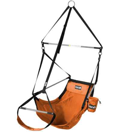 Eno LOUNGER HANGING CHAIR in Persimmon - Closeouts