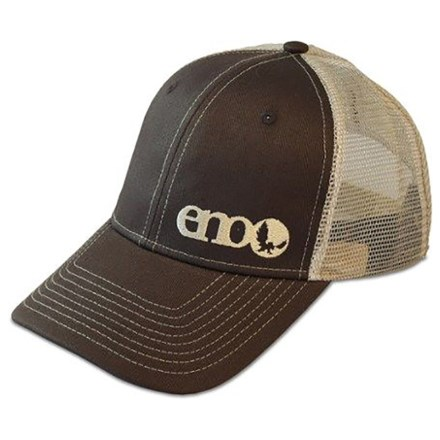 13bea0a9c03e2 ENO Mesh Trucker Mesh Hat (For Kids) in Brown Khaki - Closeouts