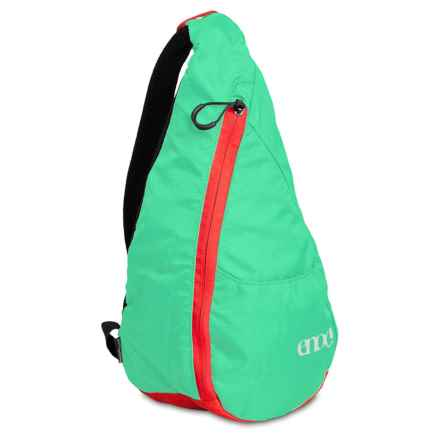 Eno Possum Pocket Backpack in Emerald - Closeouts