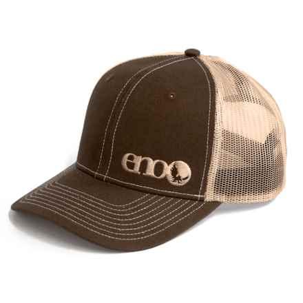 b36215be ENO Richardson Trucker Hat (For Men) in Brown/Khaki