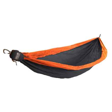 ENO Technest Hammock in Charcoal/Orange - Closeouts