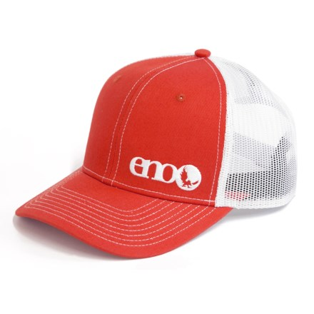 b9b3561742172 ENO Trucker Hat (For Men) in Orange - Closeouts