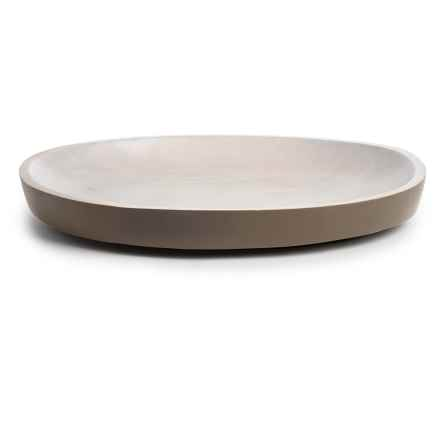 "Enrico Mango Wood Oval Platter - 16x12"" in Sagebrush - Closeouts"