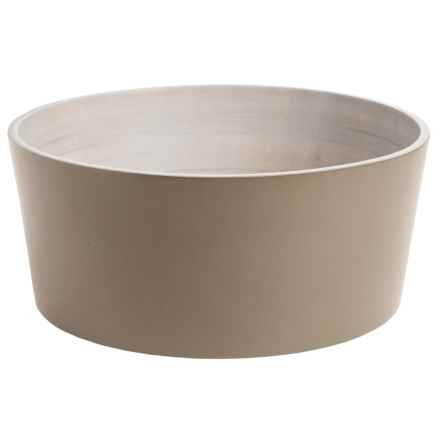 "Enrico Mango Wood Serving Bowl - 11"" in Sagebrush - Closeouts"