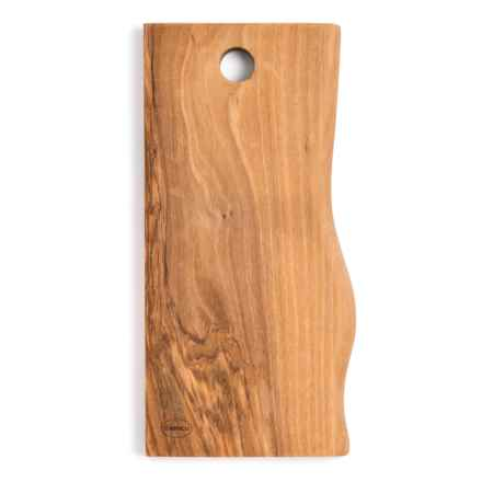 Enrico Products Enrico Olive Wood Live Edge Cutting Board - Small in Natural - Closeouts