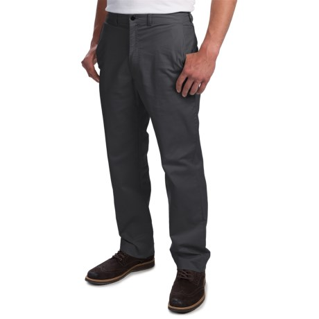 Enro Stretch Cotton Pants - Flat Front (For Men)
