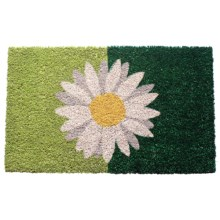 """Entryways Handwoven Coir Entry Mat - 17x28"""" in One Daisy - Overstock"""