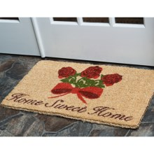 "Entryways Handwoven Coir Entry Mat - 18x30"" in Home Sweet Home - Overstock"