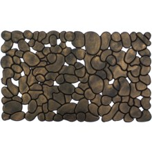 Entryways Recycled Rubber Door Mat in Rubber Stones - Closeouts