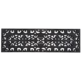 """Entryways Recycled Rubber Step Mat - 9"""" x30"""""""