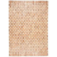 Entryways Roosevelt Exotic Wood Mat in Brown - Overstock