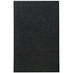 Entryways Ultra Durable Polypropylene Entry Mat - 4x6' in Black Weave