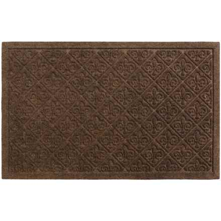 "Entryways Weather Beater Entry Door Mat - 22x35"", Polypropylene in Fleur Dy Lis - Closeouts"
