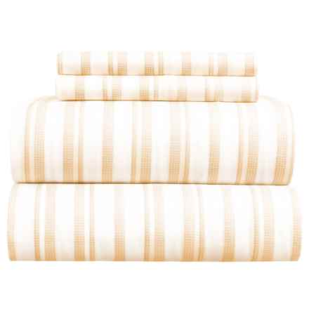 EnVogue Maine Sheet Set - Full in Yellow - Closeouts
