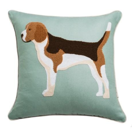 "EnVogue Roxy Throw Pillow - 18x18"" in Seafoam"