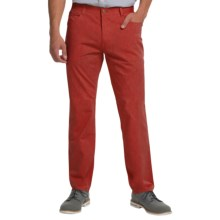 Enzo Jeans Vodka Chino Pants (For Men) in Cranberry - Closeouts