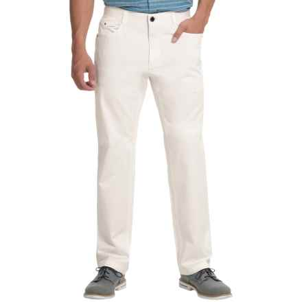 Enzo Jeans Vodka Chino Pants (For Men) in White - Closeouts