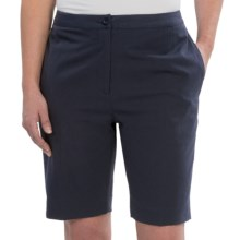 EP Pro Basics Tour Tech Shorts (For Women) in Navy - 2nds