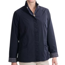EP Pro Calabria Jacket - Full Zip (For Women) in Navy - 2nds