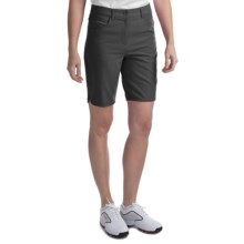 "EP Pro Curved Hem 20"" Shorts (For Women) in Black - Closeouts"