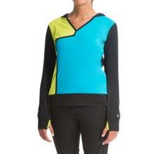 EP Pro Fast Track Color-Block Hoodie (For Women) in Black Multi - Closeouts