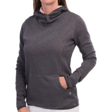 EP Pro Impressions Double-Face Hoodie (For Women) in Granite - Closeouts