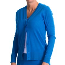 EP Pro Ingenue Cardigan Sweater - V-Neck (For Women) in Fountain Blue - Closeouts