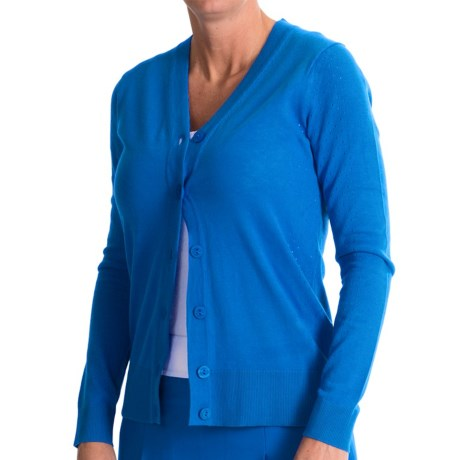 EP Pro Ingenue Cardigan Sweater V Neck (For Women)