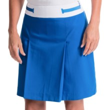 EP Pro Ingenue Stretch Microtwill Skort (For Women) in Fountain Blue - Closeouts