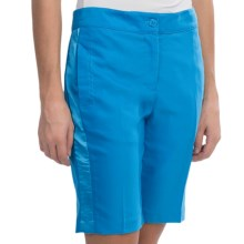 EP Pro Meridian Stretch Shorts (For Women) in Aegean Blue - Closeouts