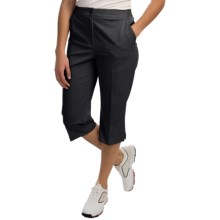 EP Pro Tour Tech Stretch Capris (For Women) in Black - Closeouts