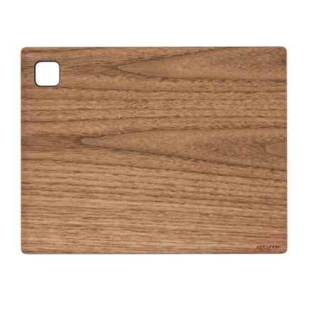 """Epicurean Cutting Board -11.25x8.75"""" in Walnut/Slate - 2nds"""