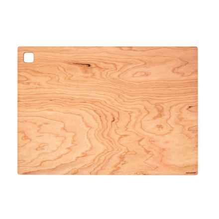 """Epicurean Cutting Board - 18x13"""" in Cherry/Natural - 2nds"""