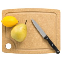 "Epicurean Gourmet Series Grooved Cutting Board - 11.5x9"" in Natural - 2nds"