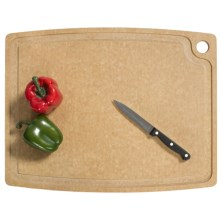 "Epicurean Gourmet Series Grooved Cutting Board - 20x15"" in Natural W/Groove - 2nds"