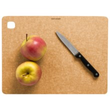 "Epicurean Kitchen Series Cutting Board - 11.5x9"" in Natural/Slate - 2nds"