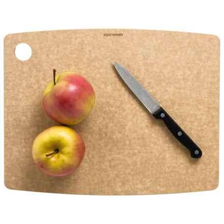 """Epicurean Kitchen Series Cutting Board - 14.5x11.25"""" in Natural W/Corner Hole - 2nds"""