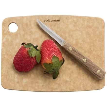 "Epicurean Kitchen Series Cutting Board - 8x6"" in Natural - 2nds"
