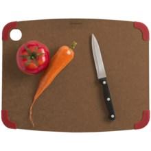 """Epicurean Non-Slip Cutting Board - 15x11"""" in Nutmeg/Red - 2nds"""