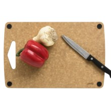 "Epicurean Non-Slip Prep Series Cutting Board - 13x8.5"" in Natural/Nutmeg - 2nds"