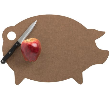 Epicurean Pig Shape Cutting Board