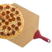 """Epicurean Pizza Peel - Large, 21x14"""" in Natural/Red - 2nds"""