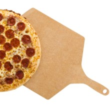 """Epicurean Pizza Peel - Silicone Handle, Medium, 18x12"""" in Natural - 2nds"""