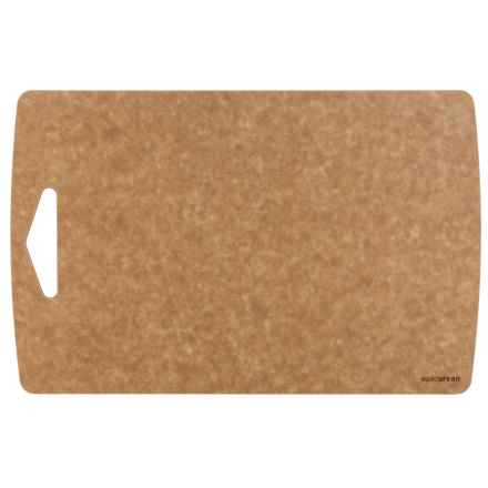 "Epicurean Prep Series Composite Wood Cutting Board - 15.5x10"" in Natural/Nutmeg Core - Overstock"