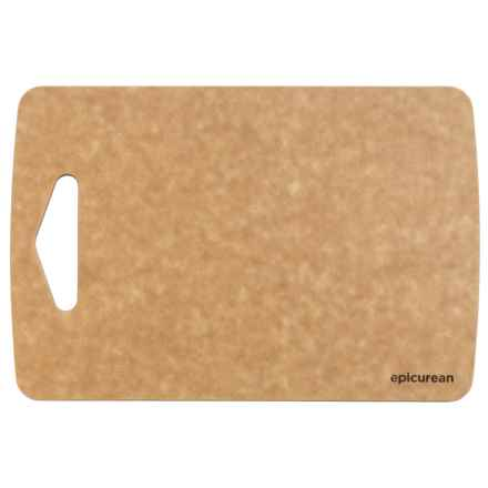 "Epicurean Prep Series Composite Wood Cutting Board - 9.5x6.5"" in Natural/Nutmeg Core - Overstock"