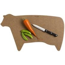 Epicurean Shape Cutting Board in Cow - 2nds
