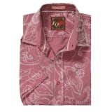 EQ Vintage Bandana Print Shirt - Short Sleeve (For Men)