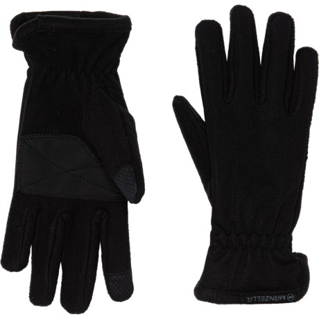 Equinox Ultra TouchTip Gloves - Touchscreen Compatible (For Women) - BLACK (S/M )